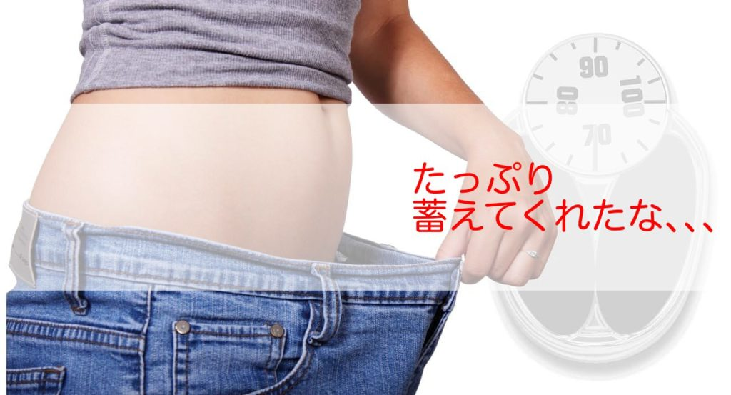 ダイエットの敵は気になる体脂肪